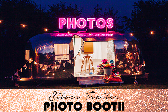 Silver Trailer Photo Booth
